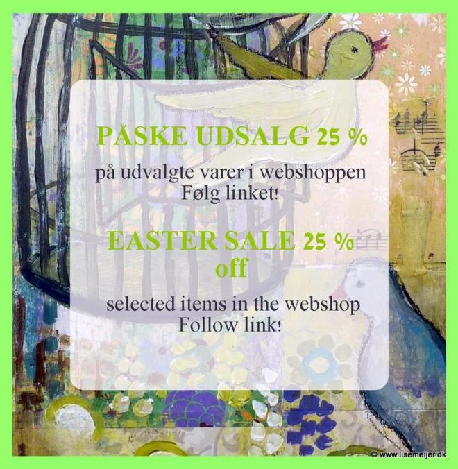 Easter Sale 25 off