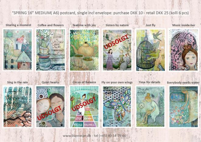 Skema 12 MEDIUM A6 kort f 16